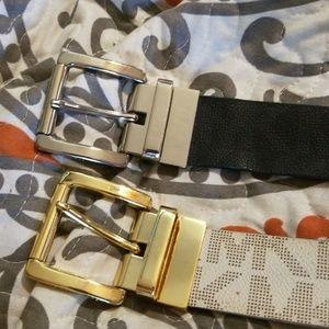 2 Michael Kors belts..